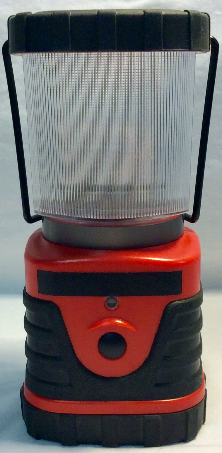 Small Red Plastic Lantern