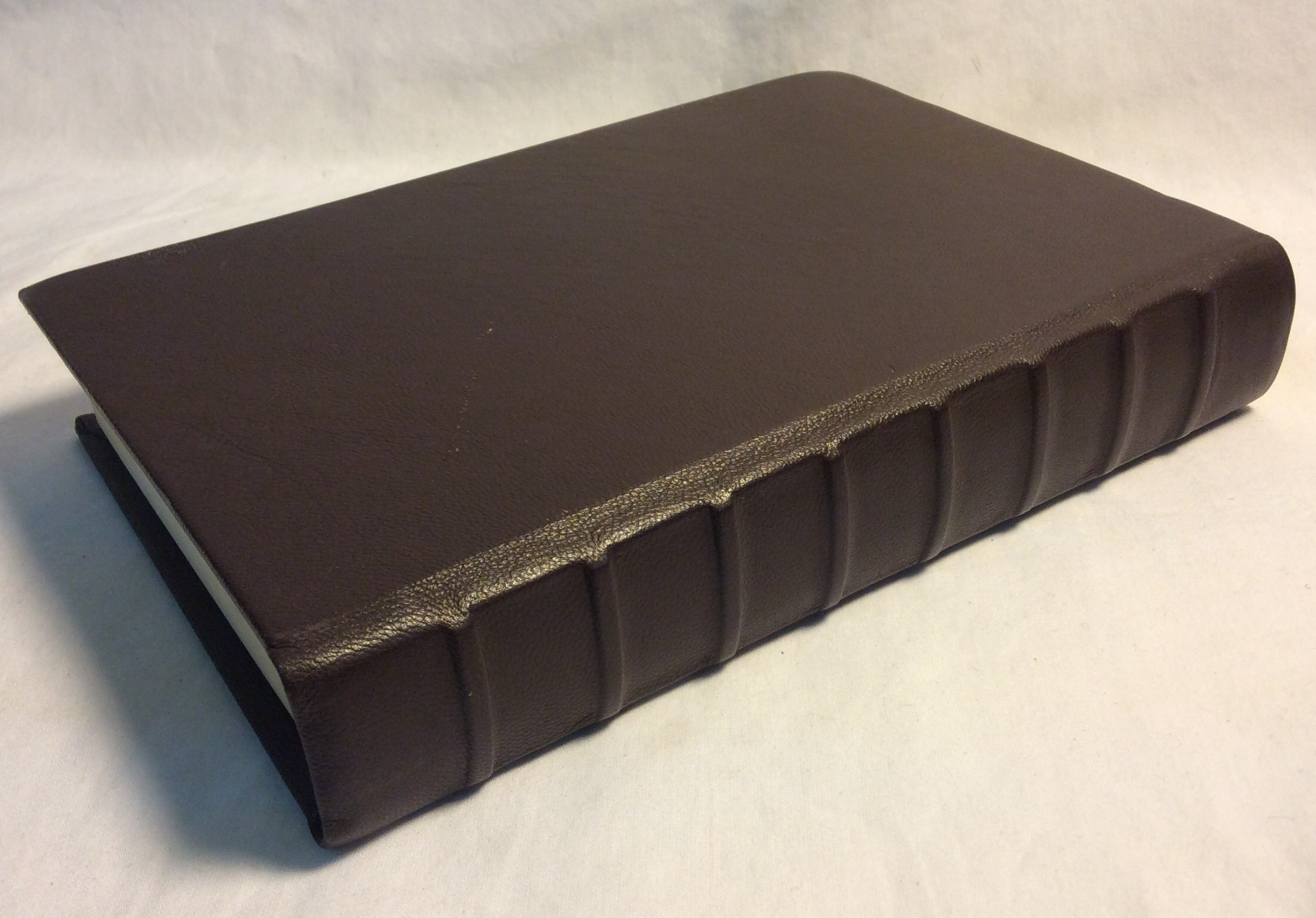 Brown hardcover storybook