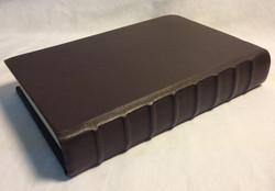 Brown hardcover storybook
