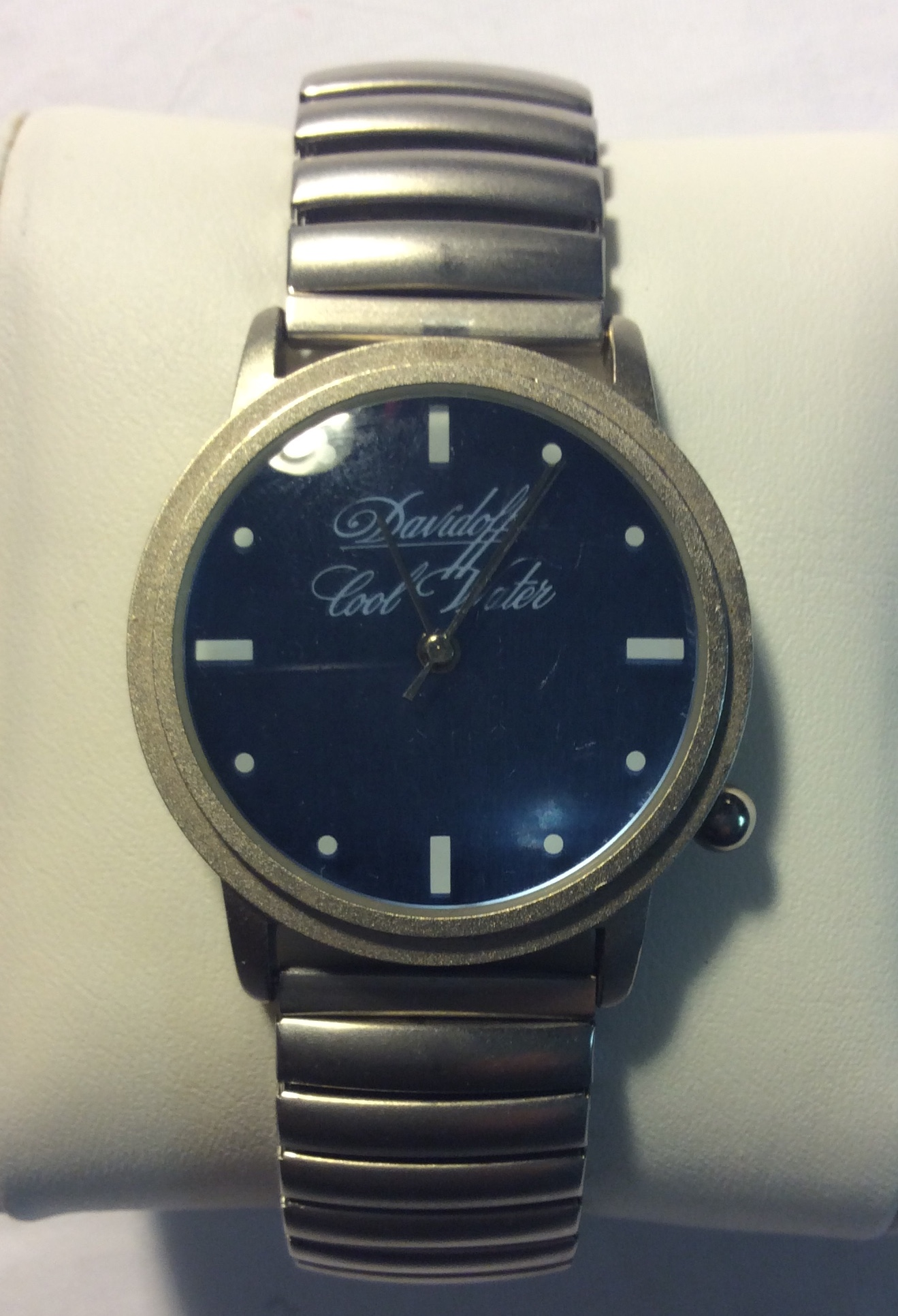 "Davidoff ""Cool Water"" watch - round"