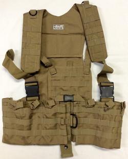 Khaki Military Vest