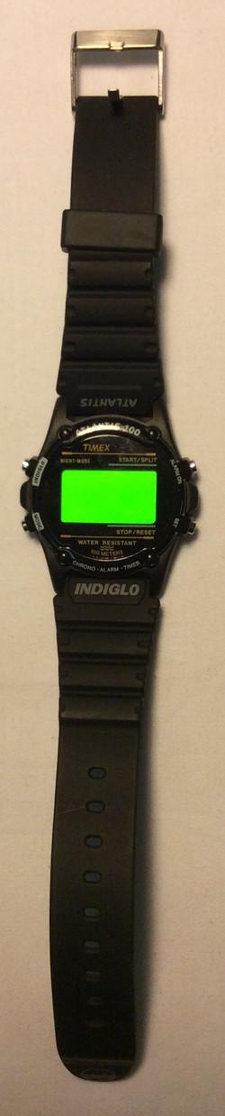 Timex Atlantis 100 watch - Digital