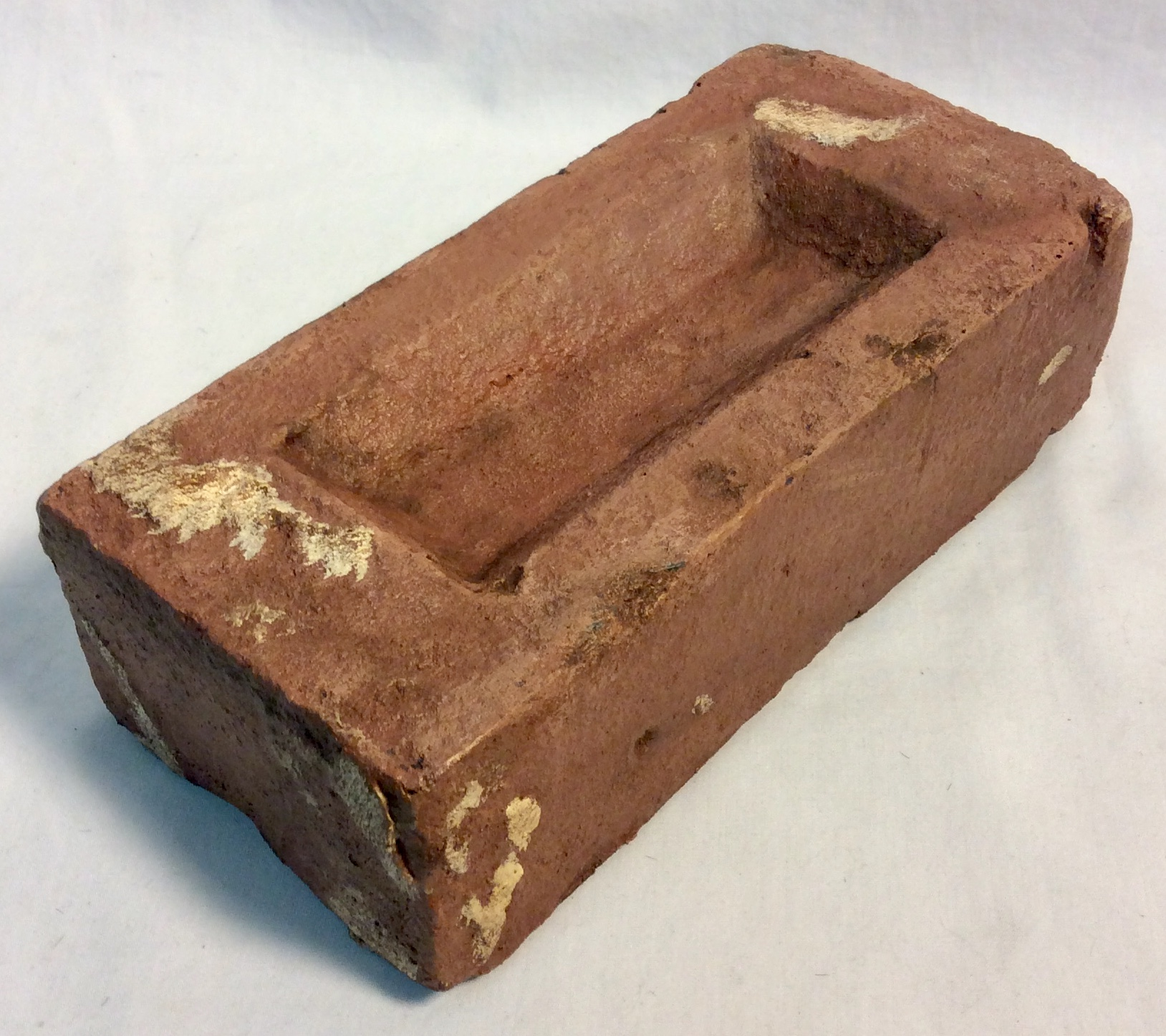Red rubber brick