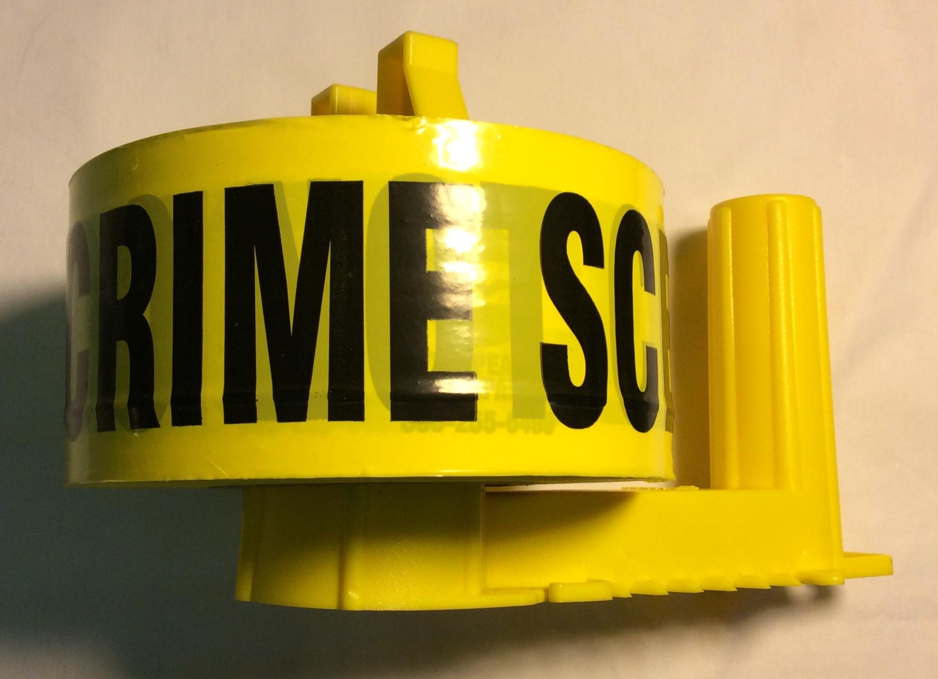 Crime Scene Tape Roller