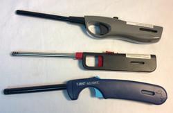Assorted working long butane lighter
