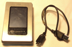 DataLocker silver metal box w chord