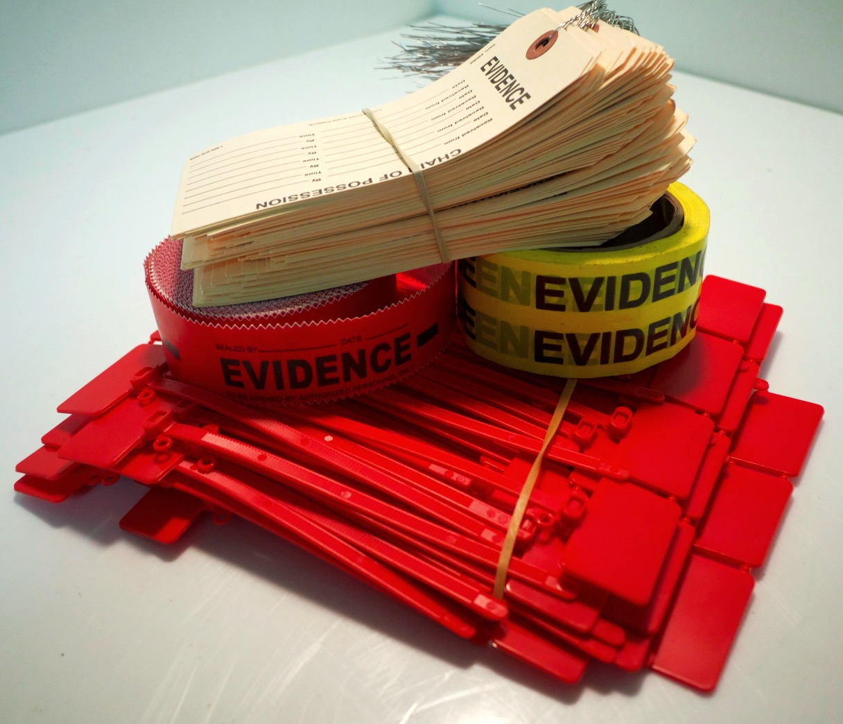 Evidence Tags and Seals