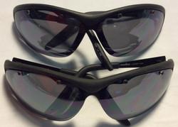 Foster Grant Black plastic frames