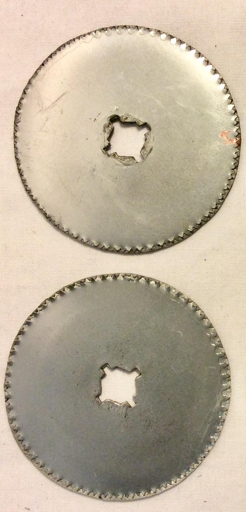 Rubber circular bone saw blade