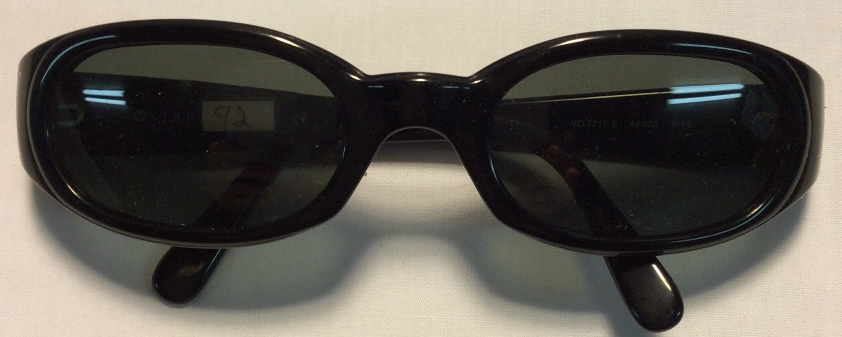 Vogue Thick black plastic frames