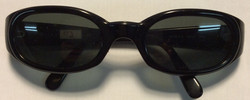 Vogue Thick black plastic frames
