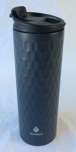 Grey Manna portable coffee mug