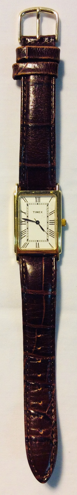 Timex White square face
