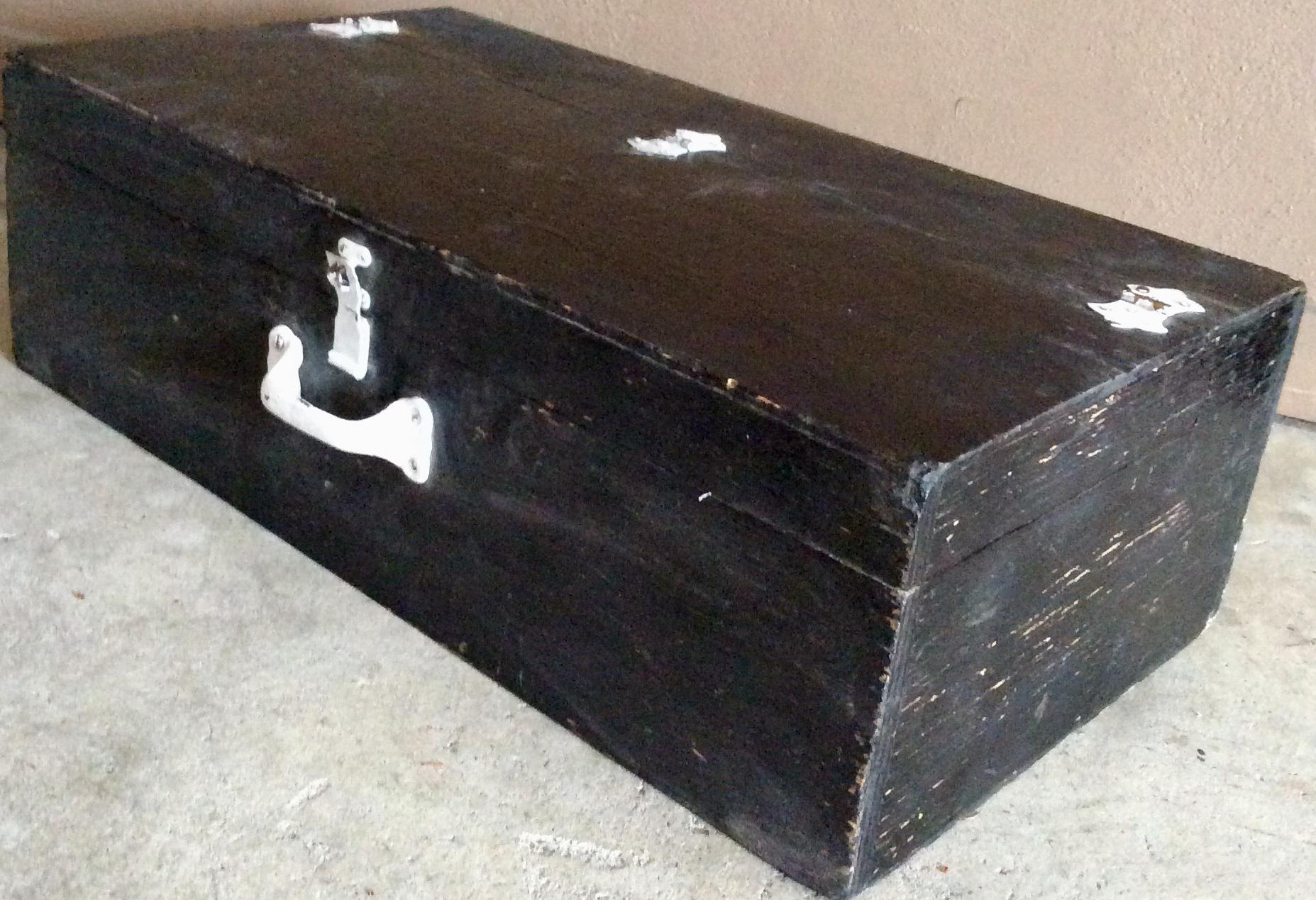 Black wood case