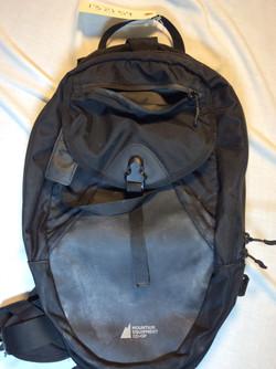 MEC small black backpack