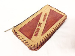 Leather Stitched Wallet