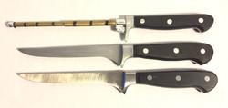 Henckel black & silver boning knife