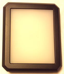 Black plastic rectangular box