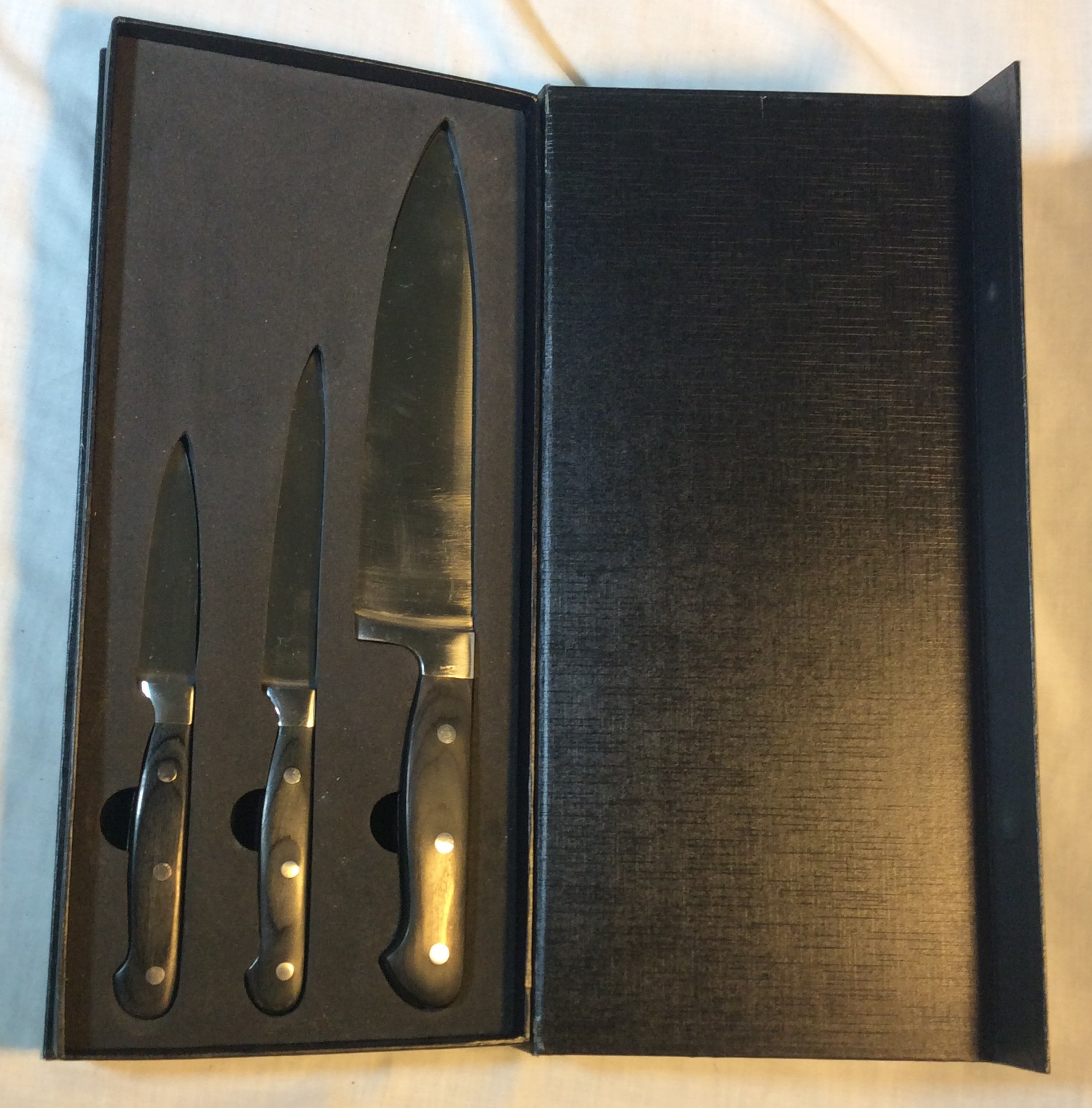 Ross Henry Knife Set in Box