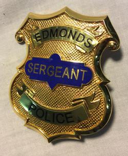 Edmonds Police Badge