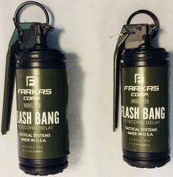 Tear gas grenade x2 rubber