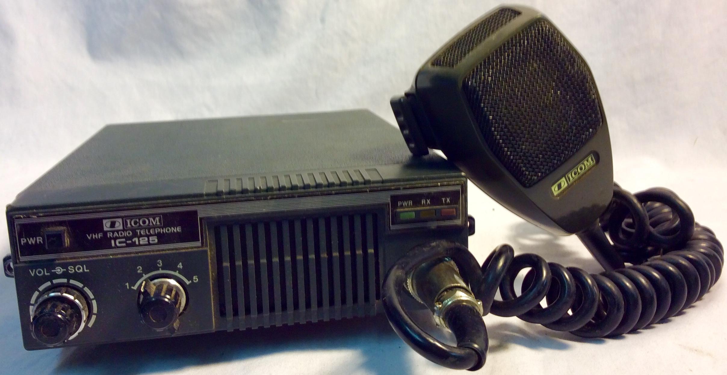 Vintage Icom Mobile VHF Radio Telephone