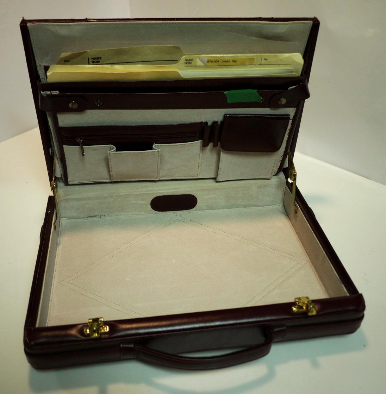 Mahogany Briefcase
