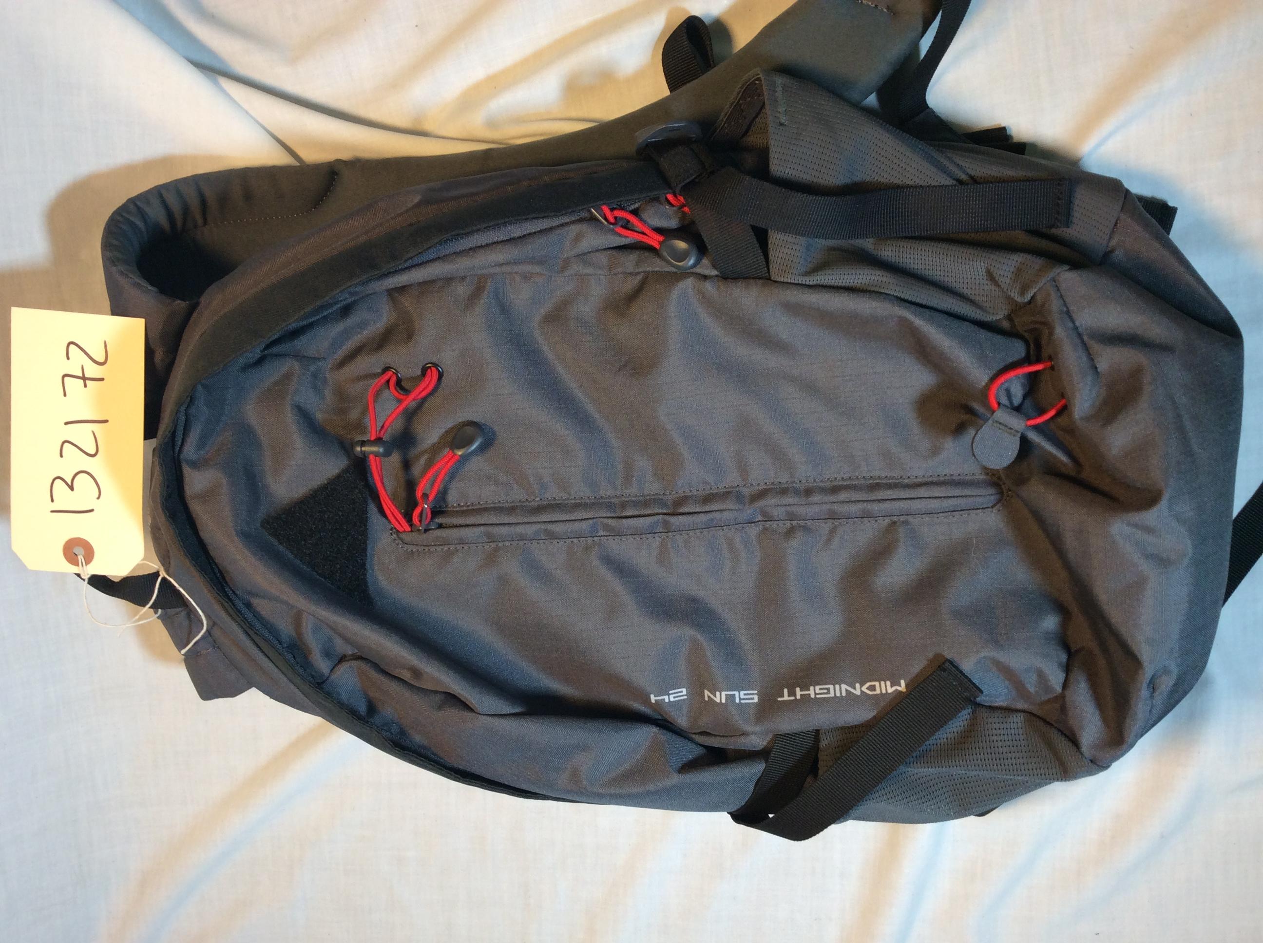 Feel black backpack