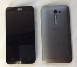 Asus Smartphone, grey back.