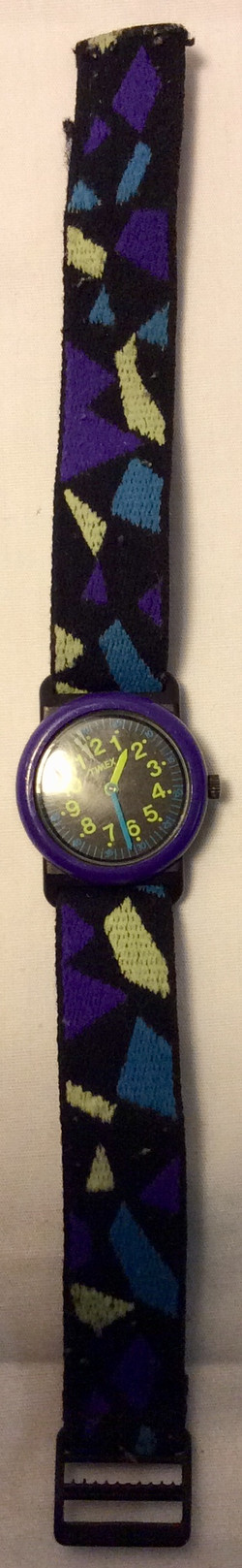 Blue and black Timex Watch