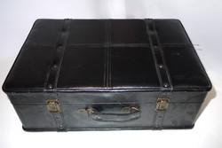 Vintage black luggage