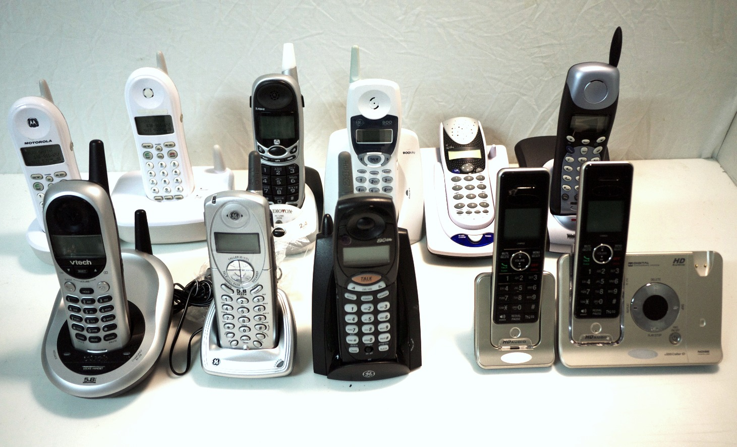 Assorted Cordless Phones