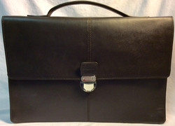 Cole Haan Dark brown leather with silver clasp