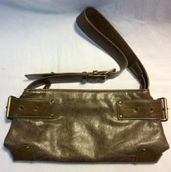 Dark greenish-brown purse