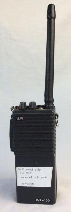 WR-100 Radio