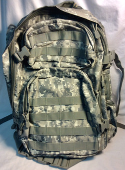 Military backpack brand new with light grey camo
