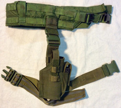 Army Green drop down holster