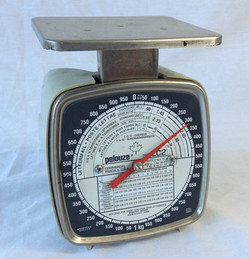 Pelouze medical scale (Up to 2kg)