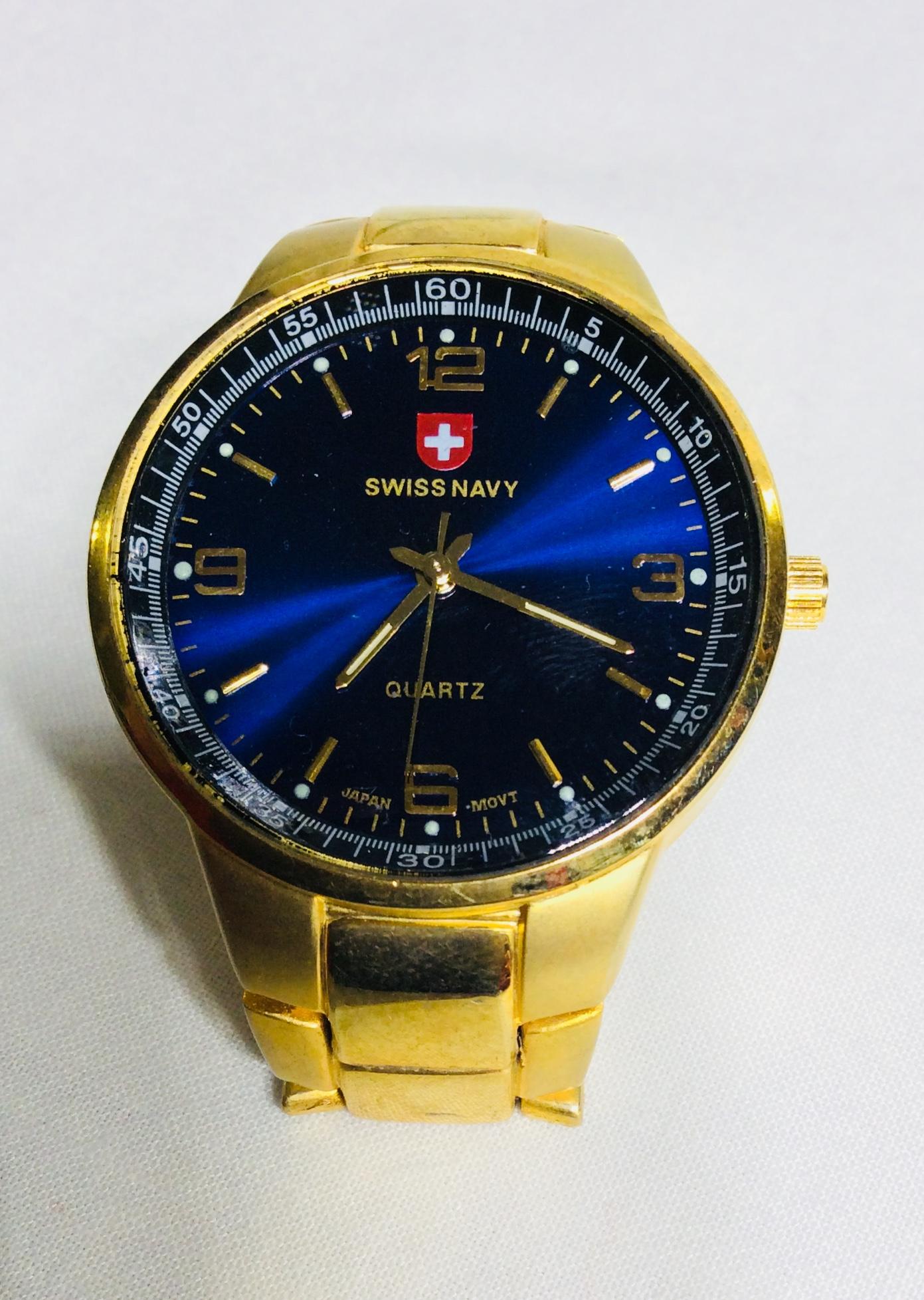 Swiss Navy Golden Watch
