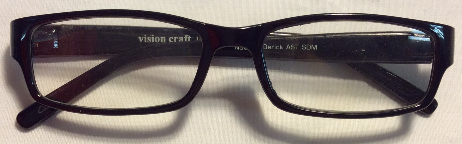 Vision Craft Thick black plastic end