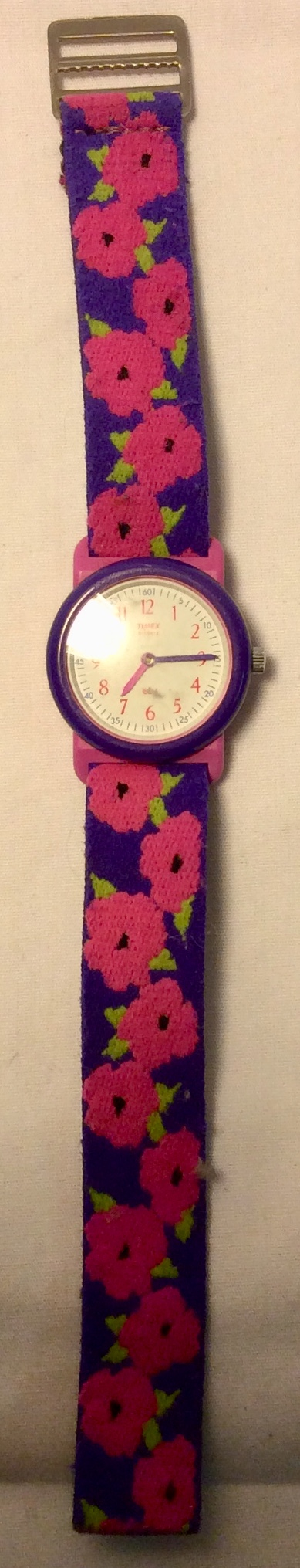 Pink and purple Timex Watch