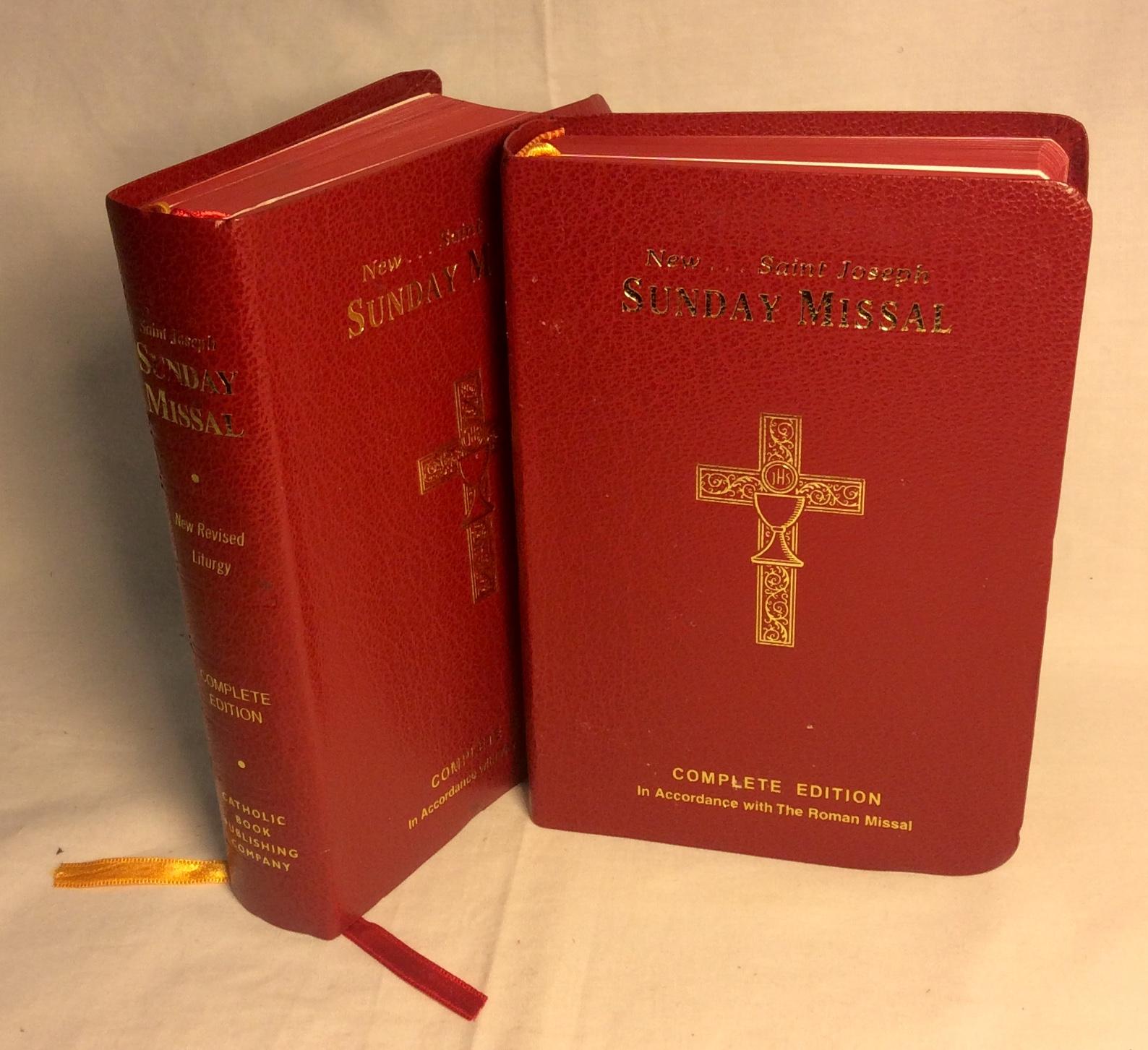 Red New Saint Joseph Sunday Missal
