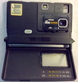 Vintage 1980's Kodak Disc 6000 Camera.