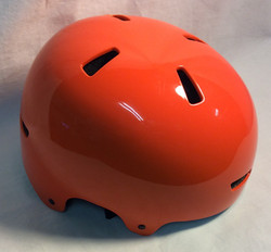 Glossy Orange Skate/Bike helmet size M