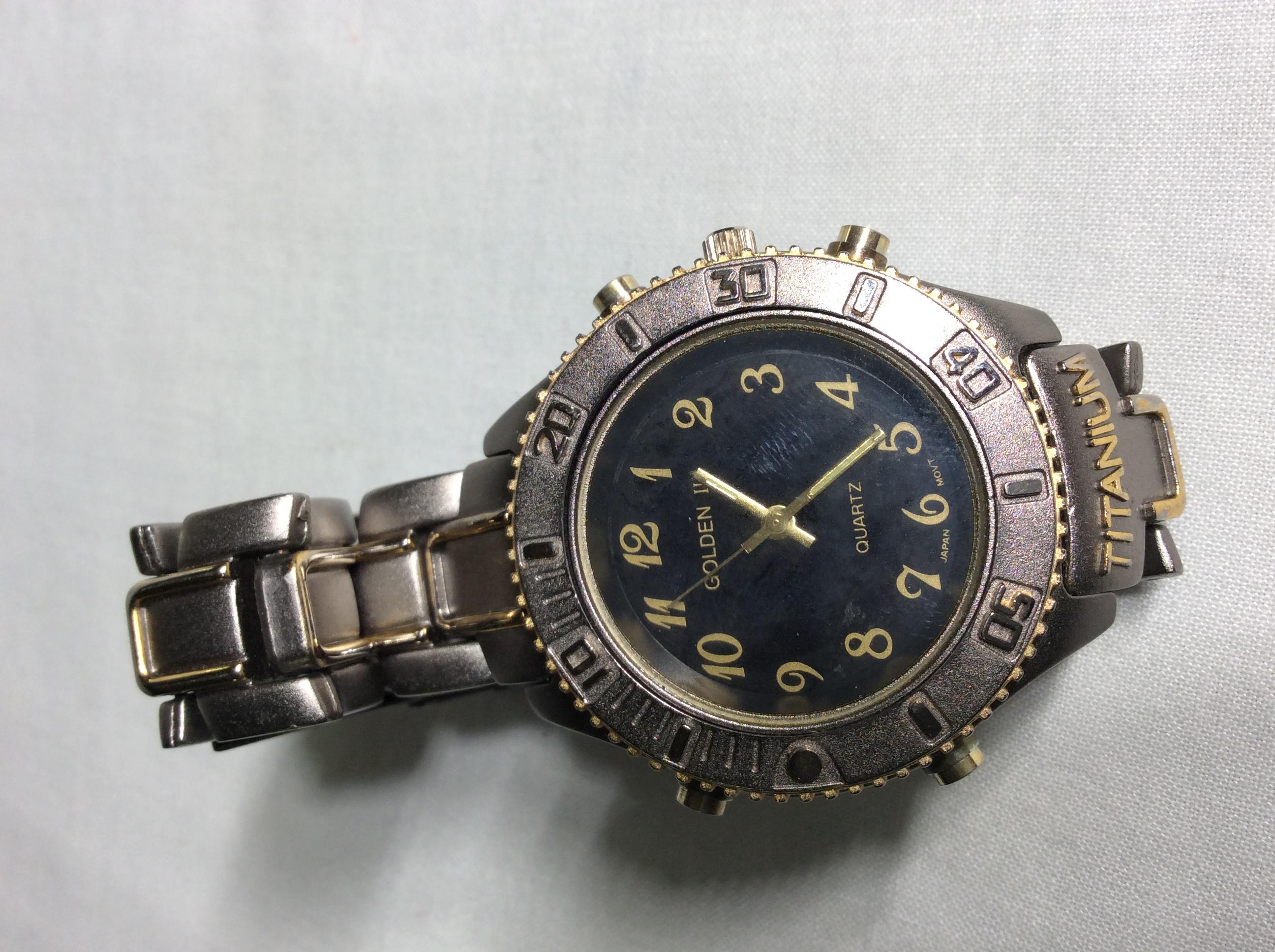 Titanium Golden II