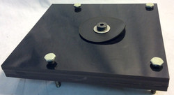 Light mounting plate, Square.