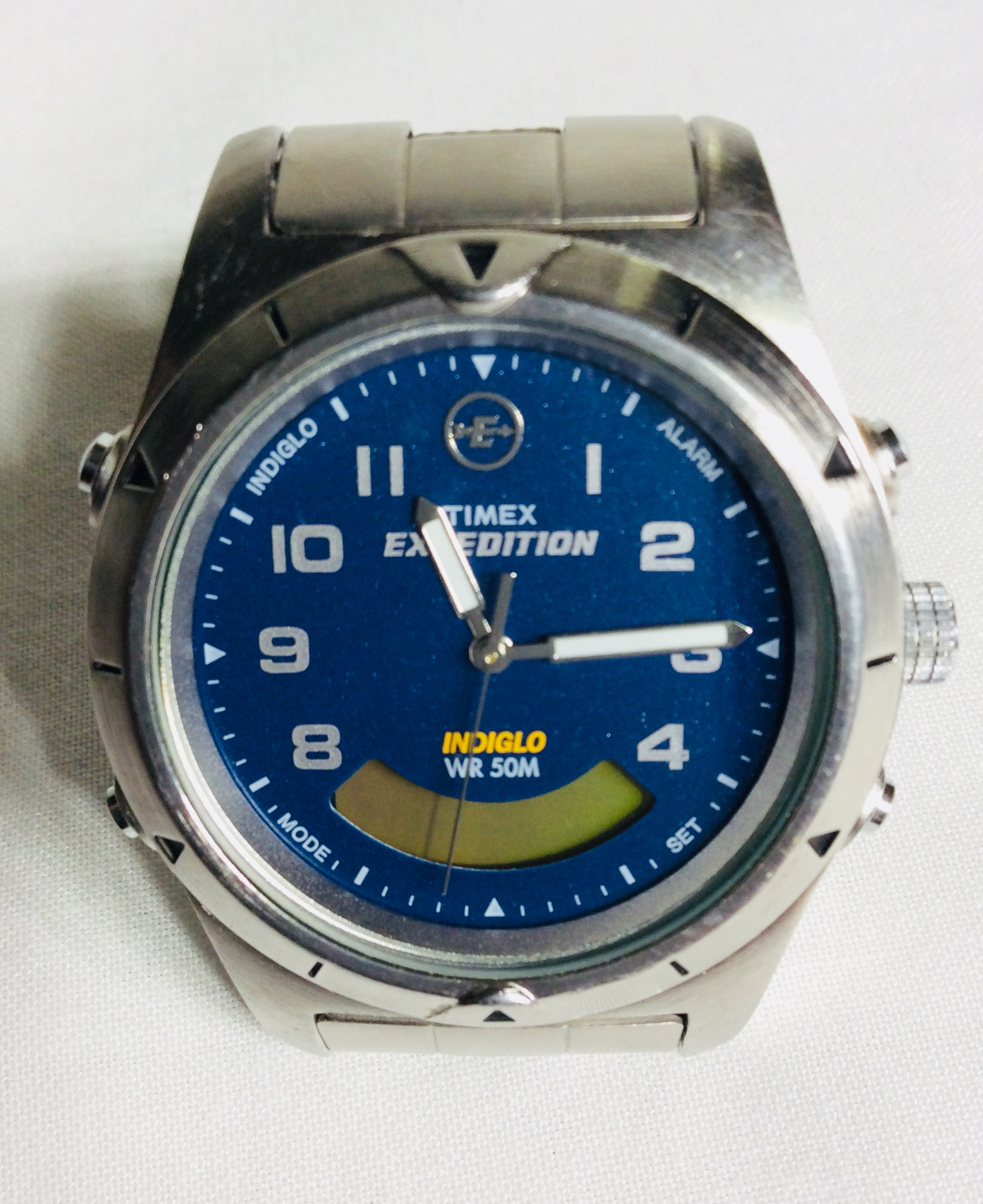 Timex Expedition Silver Watch