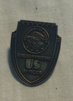 US Bureau of Prisons Officer Pin