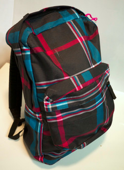 Fuchsia/Turquoise backpack
