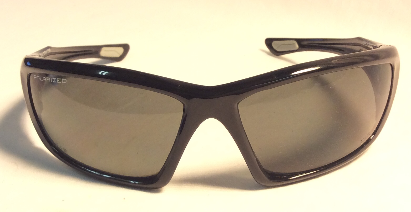 "Black  ""Edge"" wrap around sunglasses"